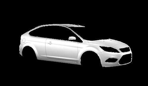 Цвета кузова Focus 3-х дверный