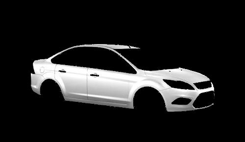Цвета кузова Focus Sedan