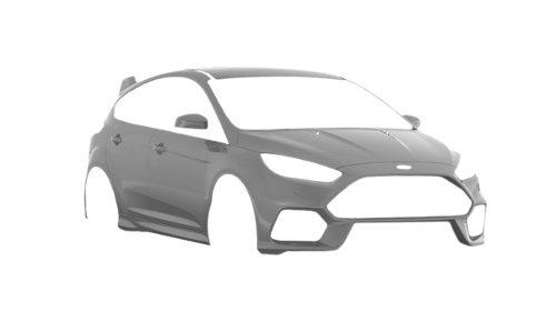 Цвета кузова Focus RS