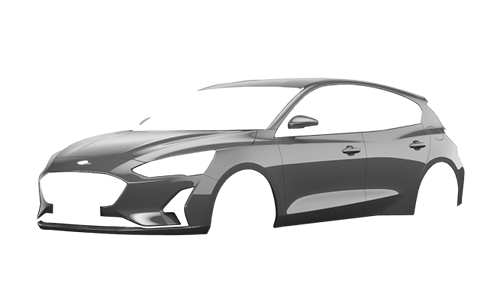 Цвета кузова Focus